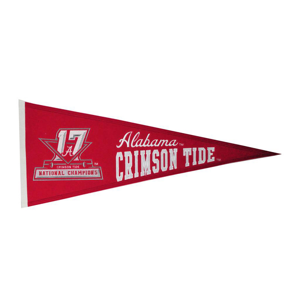 2017 NCAA Football Champs Traditions Pennant