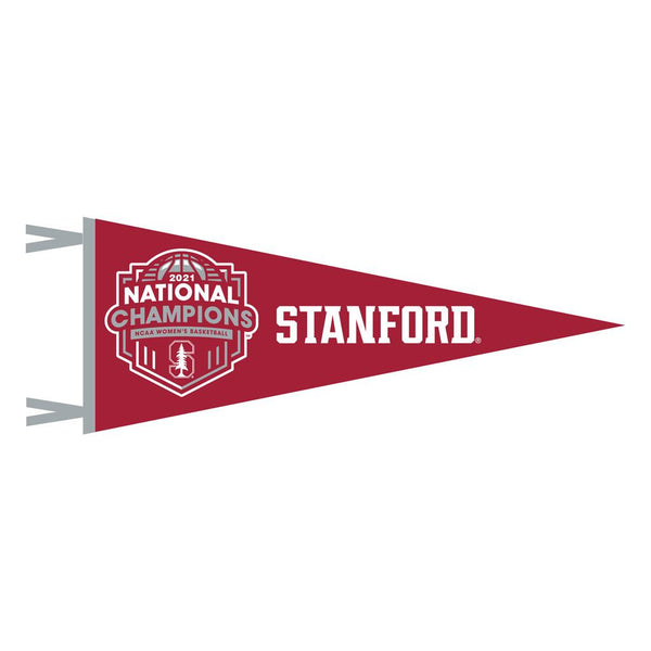 Stanford Women's 6x15 Red Champ Pennant
