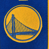 2018 NBA Champs Golden State Warriors Mini Banner
