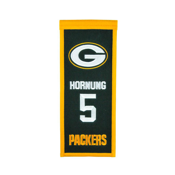 Hornung Packers Legacy Banner