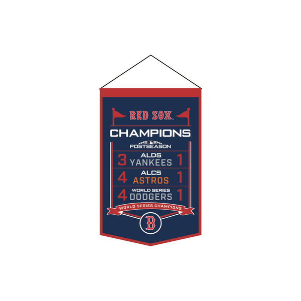 2018 World Series Champs Boston Red Sox Printed banner
