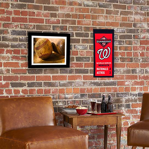 2019 World Series Champs Washington Nationals Mini Banner