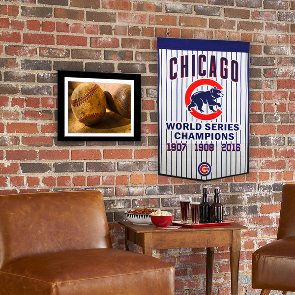 Chicago Cubs Pinstripe Banner
