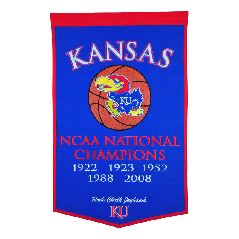 Kansas University Basketball Banner