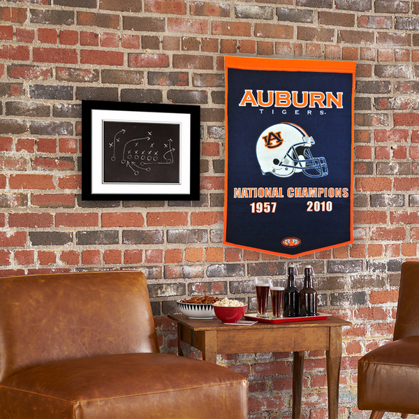 Auburn University Football Banner