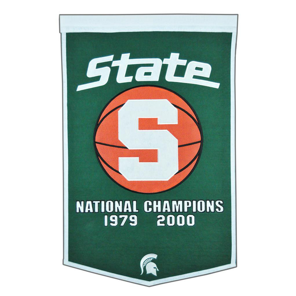 Michigan State Basketball Banner