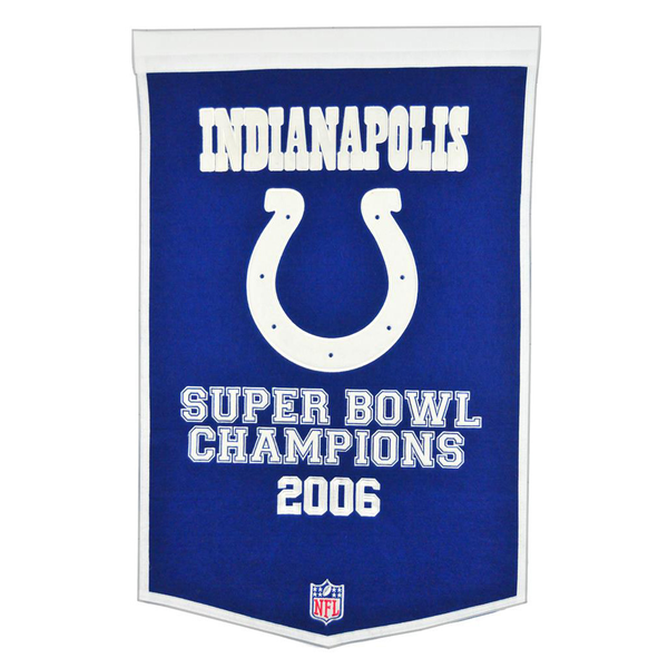 Indianapolis Colts SB Banner