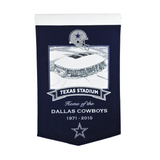 Texas Stadium Dallas Cowboys Banner