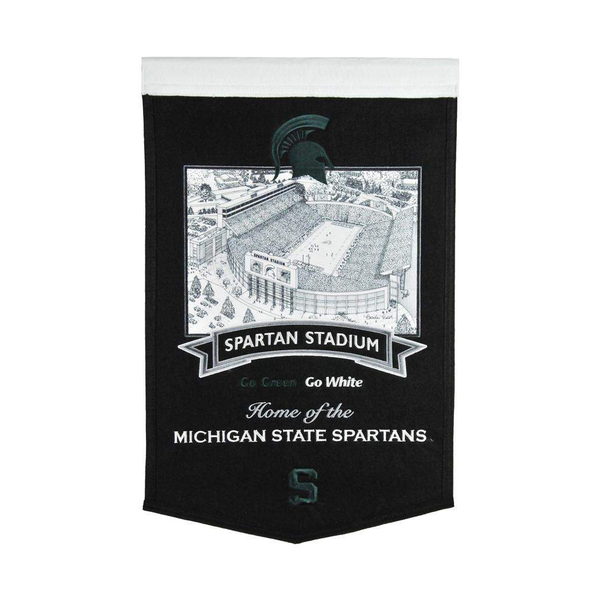 Michigan State Stadium Banner