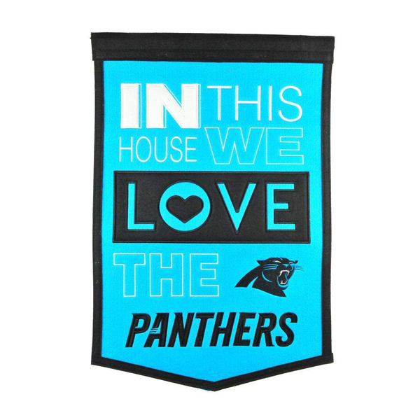 Carolina Panthers Home Banner