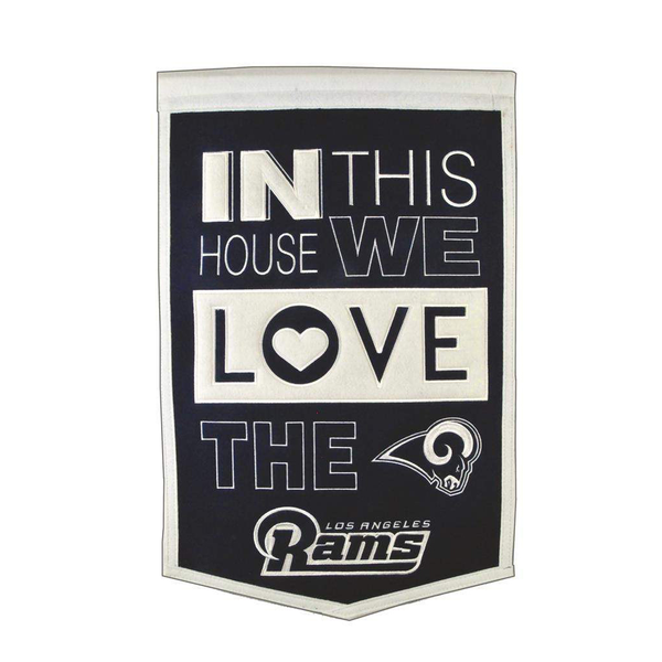 Los Angeles Rams Home Banner