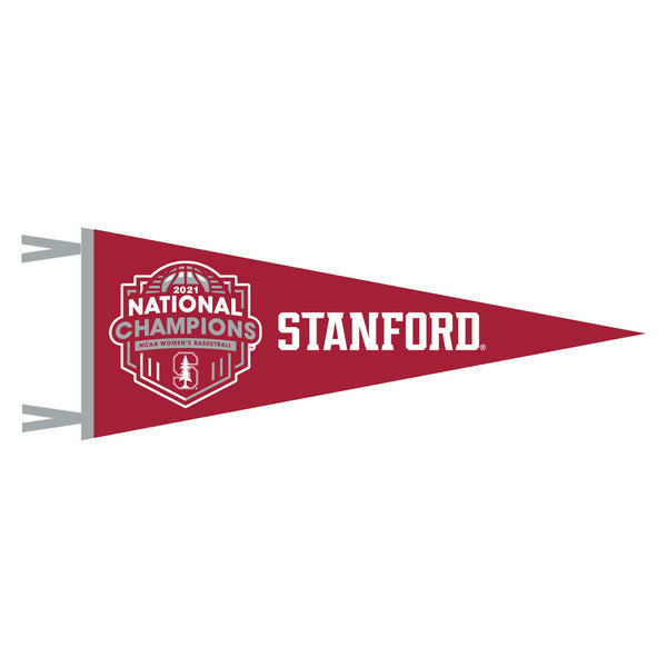 Stanford Women's 9x24 Red Champ Pennant