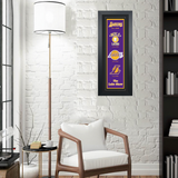 Los Angeles Lakers Heritage Banner