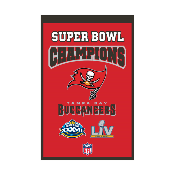 Tampa Bay Bucs Champs Banner