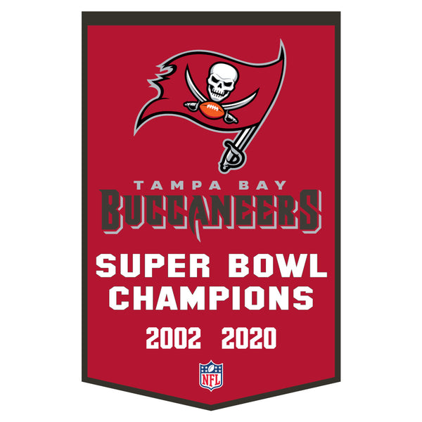 Tampa Bay Bucs Dynasty Banner