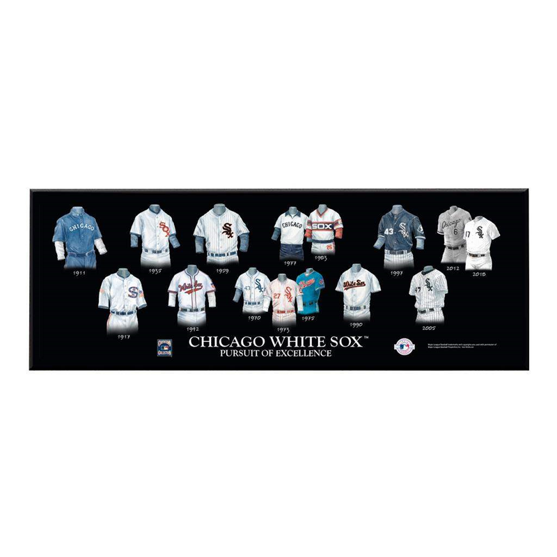 Chicago White Sox Legacy Uniform Plaque