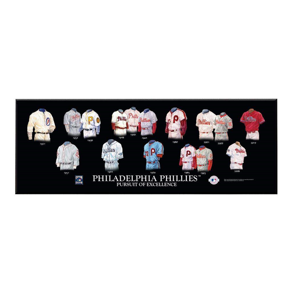 Philadelphia Phillies Legacy Uniform Plaque