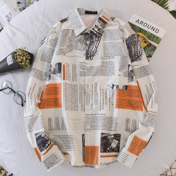 S. Kay Printed Shirt