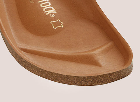 The Birkenstock Semi-Exquisite Footbed Raised Edge