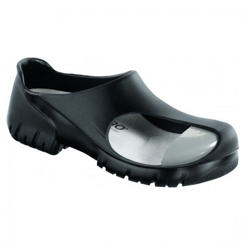 Birkenstock A640 Black Clogs with