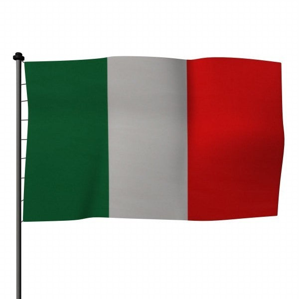 Bandiera italiana in poliestere