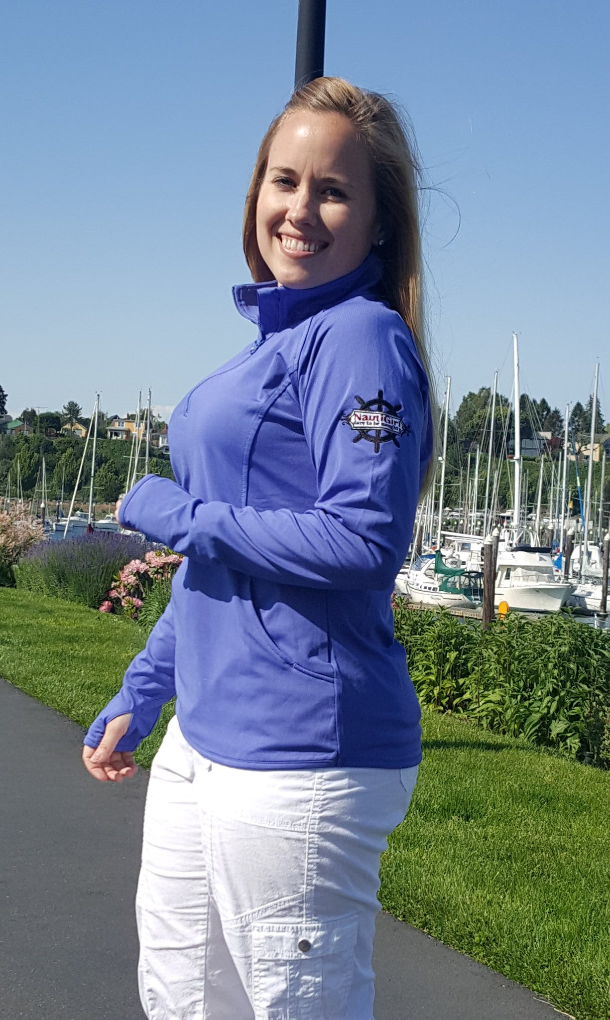 Long Sleeved half zip pullover