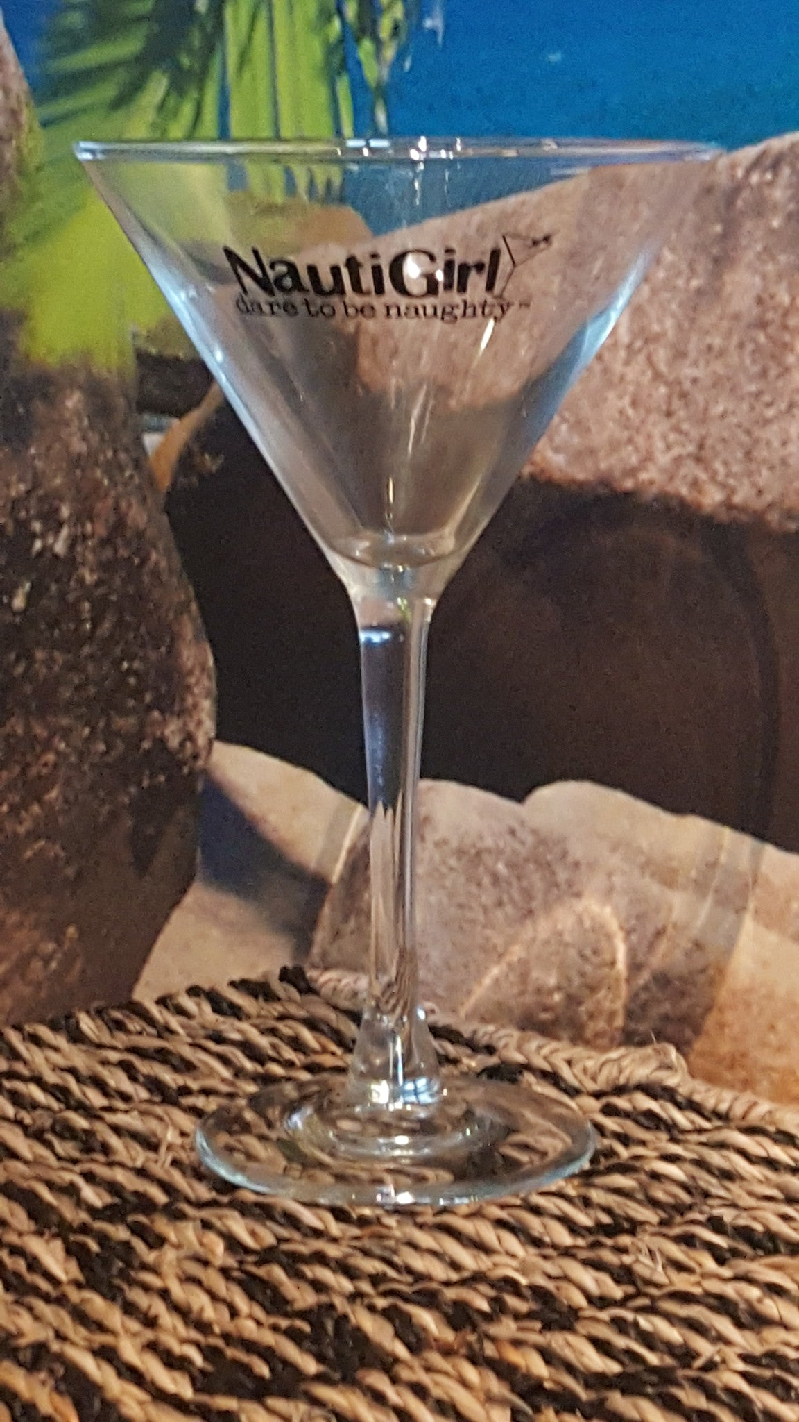 Nautigirl Martini Glass