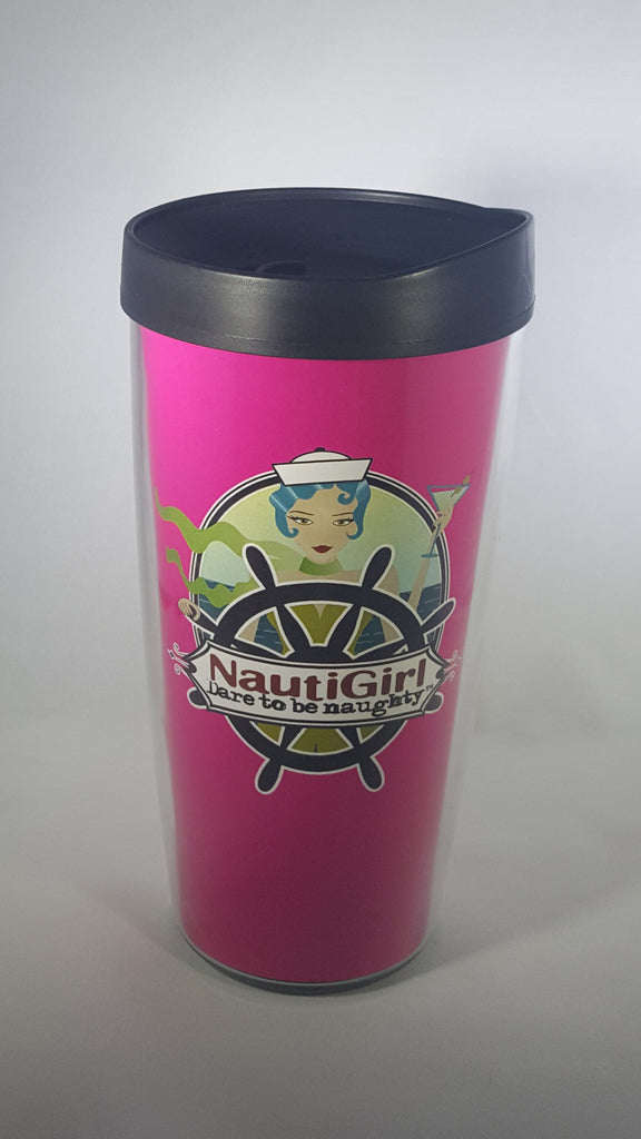 NautiGirl Travel Tumblers made in the USA