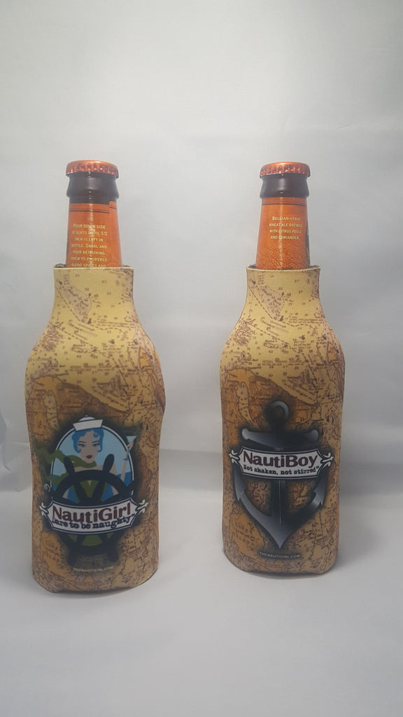 NautiGirl and NautiBoy Bottle Cozies