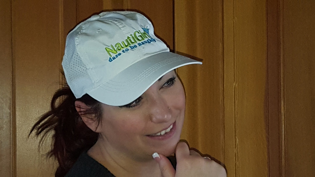 New! NautiGirl Breathable Ball Cap