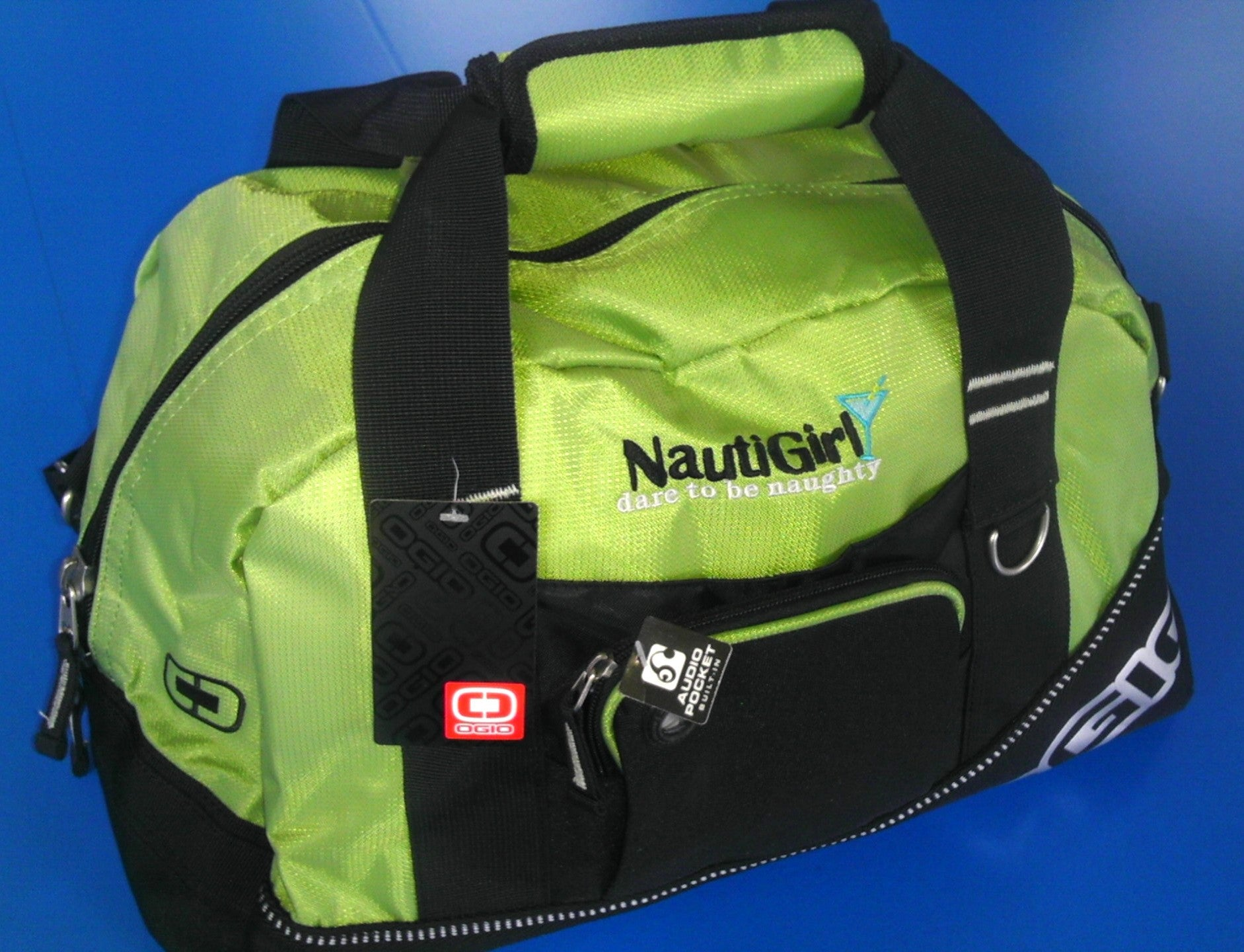 Nautigirl or NautiBoy Gym Bag