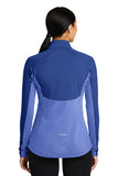NEW! Contrasting color block Sport Wick Half Zip Pullover