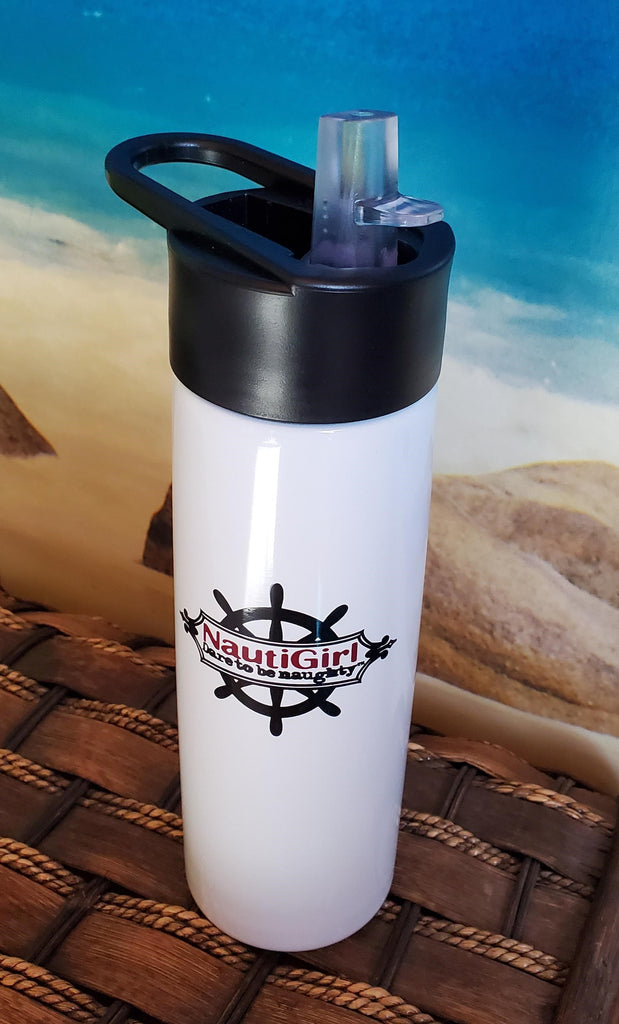 NEW! NautiGirl Water Bottle