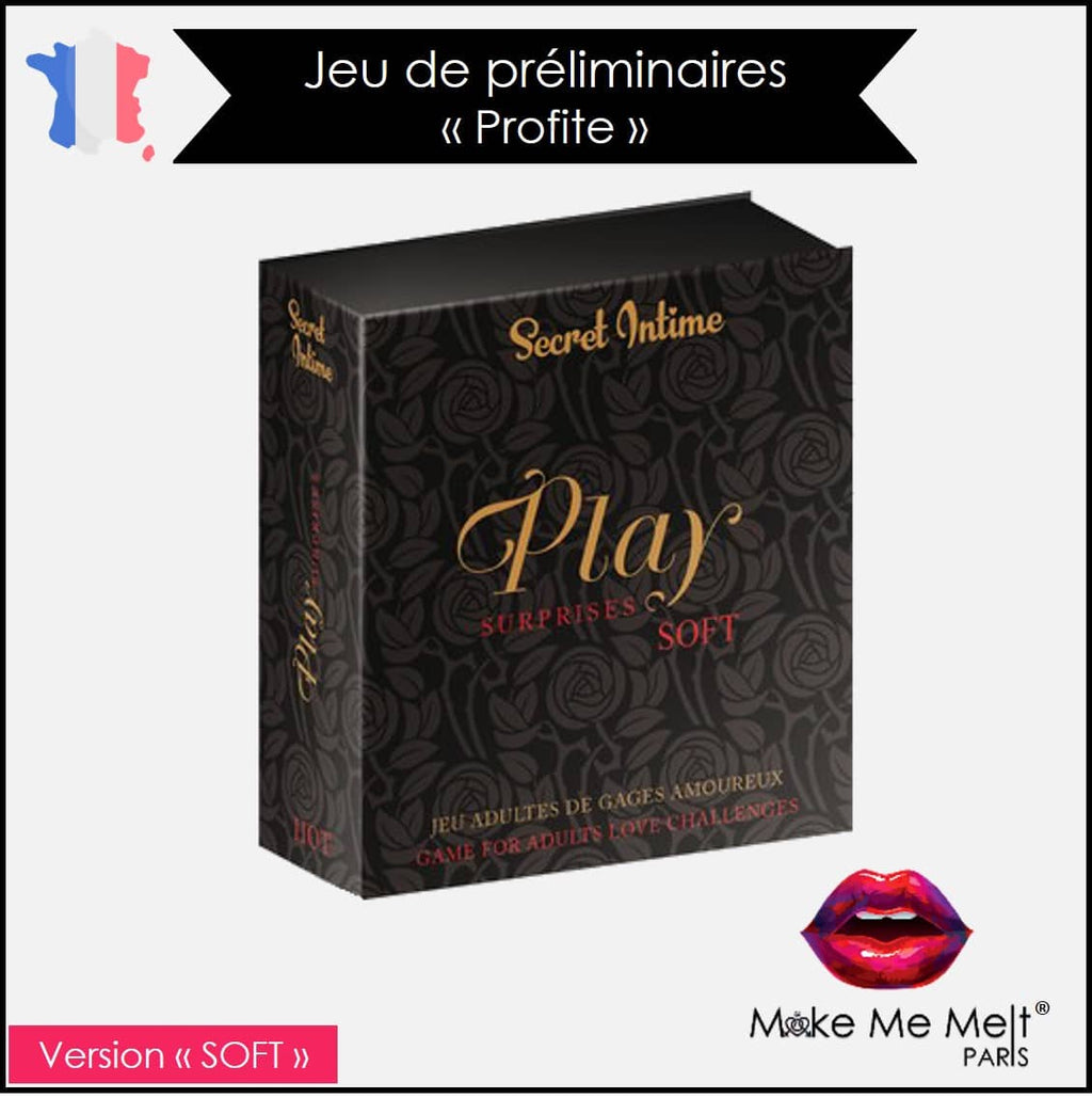 jeu-coquin-préliminaire-play surprises-Soft-secret-intime-produit-vue-face-make-me-melt-paris