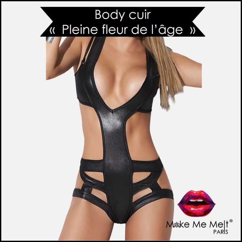 lingerie-sexy-body-cuir-noir-mapale-style 2438-zoom-vue-face-make-me-melt-paris