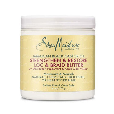 Shea Moisture Jamaican Black Castor Oil Lock Braid Butter 6oz