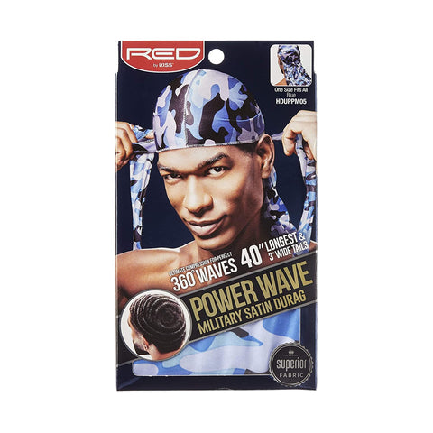 Power Wave Military Durag- Blue
