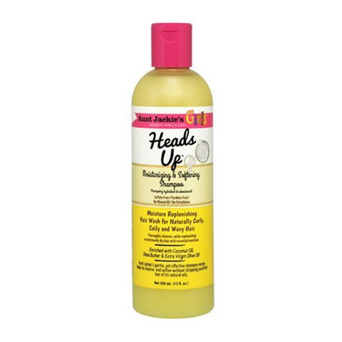 Aunt Jackie's Girls Heads Up Moist & Softening Shampoo 12oz