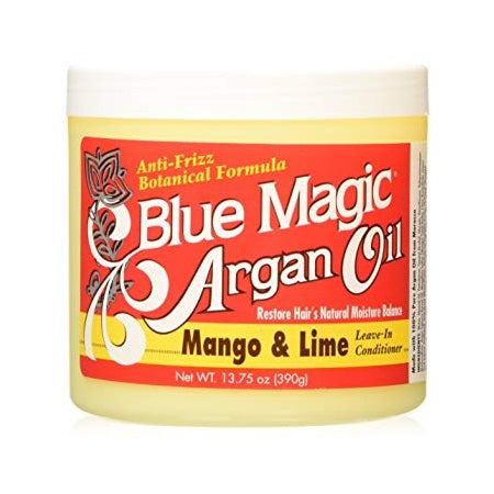 Blue Magic Argan Oil- Mango & Lime Leave in Conditioner 390g