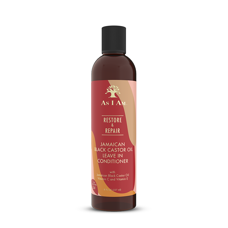 As I Am Jamaican Black Castor Oil Leave-In Conditioner 8oz
