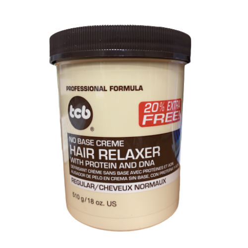 TCB Hair Relaxer With Protein & DNA - Regular 18oz