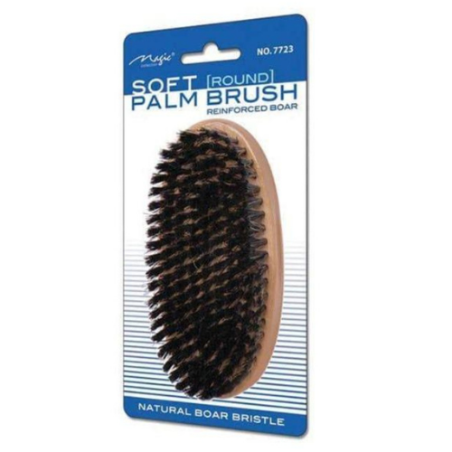 Magic Collection Natural Boar Bristle Round Brush - Soft Palm