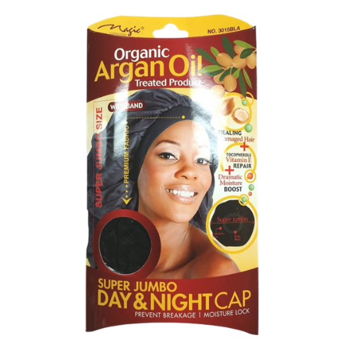Magic Collection Super Jumbo Day & Night Cap - Organic Argan Oil Treated