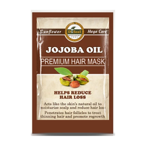 Difeel Jojoba Oil Hair Mask Sachet 50g