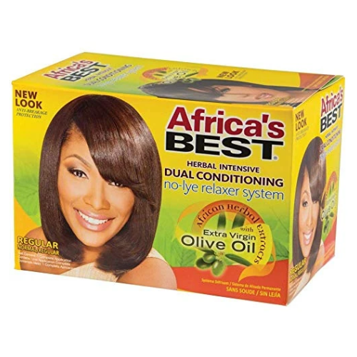 Africa's Best Dual Conditioning No-Lye Relaxer System