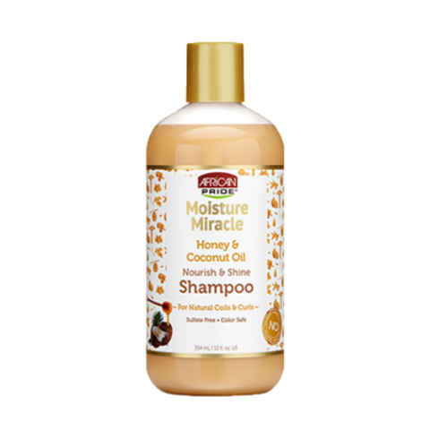 African Pride Honey & Coconut Shampoo 12oz