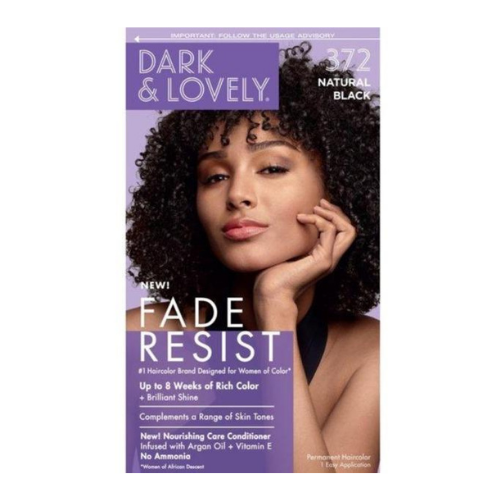 Dark & Lovely Fade Resistant Rich Colour - Natural Black 372
