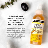 Aunt Jackie's Repair My Hair – Argan Oil 4oz