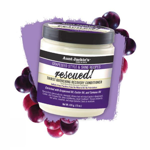 Aunt Jackie's Rescued! - Third Quenching Recovery Conditioner 15oz
