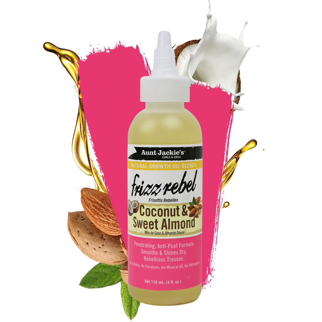 Aunt Jackie's Frizz Rebel – Coconut & Sweet Almond